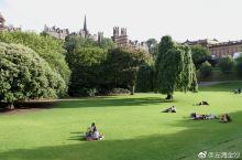 爱丁堡王子街花园一角