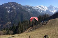 第一次玩滑翔伞-斯洛文尼亚Julian阿尔卑斯山山脉