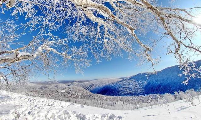 冬季在东北邂逅一场冰雪奇缘