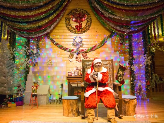 Arctic Christmas Village