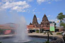 清莱的温泉广场,值得一游