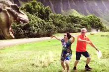 夏威夷-古兰妮牧场好莱坞恐龙袭击中国游客