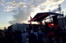 伊尔库茨克的街头音乐会