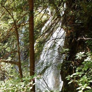 树正瀑布旅游景点攻略图