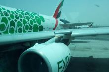#埃及游#迪拜转机飞开罗