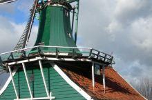荷兰桑斯安斯风车村