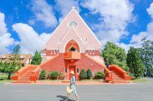 越南必打卡拍照圣地「最美粉色修道院」
