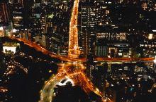 「最美夜景打卡地」在东京铁塔第一次眺望