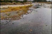 新疆图木舒克市的小海子北闸有条清澈的河