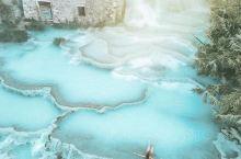 最美仙境温泉!如果去意大利旅游一定不要错过这!~