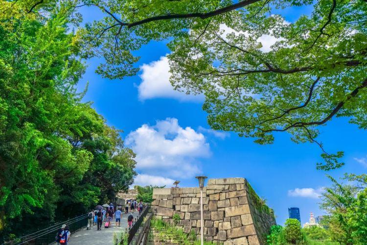 The Main Tower of Osaka Castle4