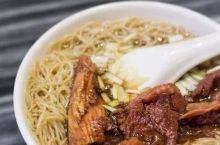 即使登上了《舌尖中国》,在广州人的心里它就是一碗好吃的竹升面