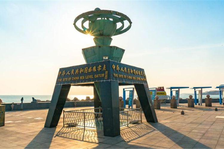 중국 기준 해수면 관광지구3
