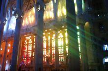 西班牙巴塞罗那 圣家堂                                      圣