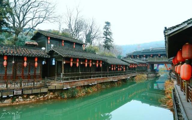 距离南京仅30分钟,适合家庭出游,4万平方明清古村,年味超浓