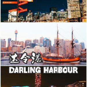 达令港旅游景点攻略图