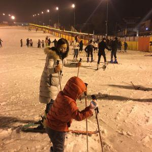 白鹿原滑雪场旅游景点攻略图