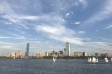 波士顿-夏天的查尔斯河
