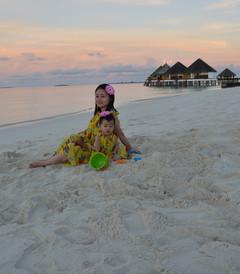 [马尔代夫游记图片] 马尔代夫meedhupparu-带16个月宝宝说走就走的旅行