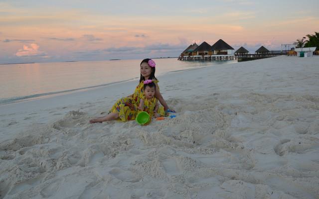 马尔代夫meedhupparu-带16个月宝宝说走就走的旅行