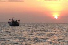 卡尼岛的夕阳