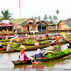 婆罗洲(加里曼丹岛)游记图文-婆罗洲梦幻水都——印尼最具魅力的城市