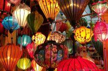 灯如昼,越南会安古镇夜色