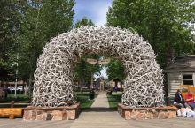 怀俄明州杰克逊,鹿角拱门