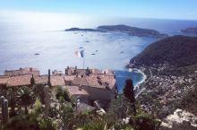 悬崖上开出的花,中世纪绝美小镇--埃兹。