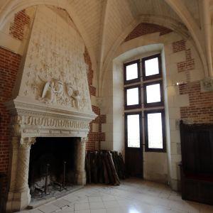 昂布瓦兹王家城堡旅游景点攻略图