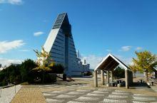 青森的瞭望楼,可以看到青森的全貌和对面的大海