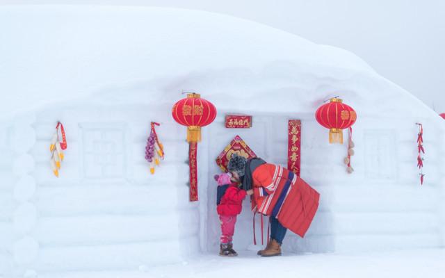 冬天是一场盛大的游戏   帝都萌娃亲雪旅行攻略