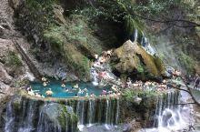 西昌螺髻山瀑布温泉