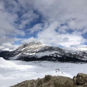 哥伦比亚冰原旅游景点攻略图