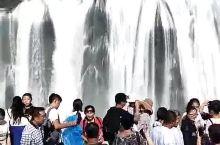 黄果树大瀑布前拍一段