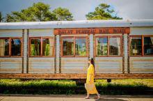 「越南网红打卡地」超复古的大叻火车站