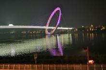 长江首座步行桥---南京眼之夜