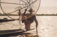 给大家看看缅甸当地人是如何捕鱼的