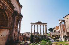 世界遗产 古罗马废墟遗址