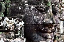 神秘莫测高棉的微笑