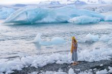 这里是冰岛,却有着南极一样的风光