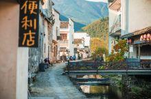 距离宏村一公里,安逸的卢村古村落