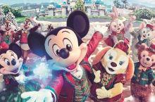 以爱之名,一起去香港迪士尼过圣诞