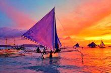 寻找最美海岛日落,在粉白沙滩漫步