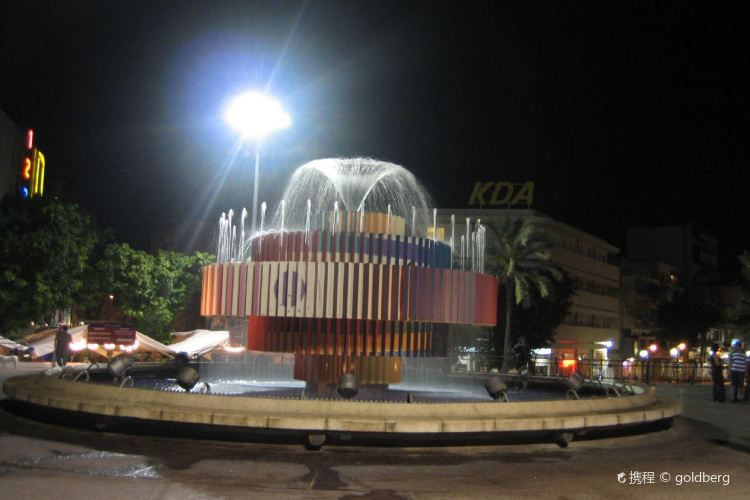 Dizengoff Fountain3