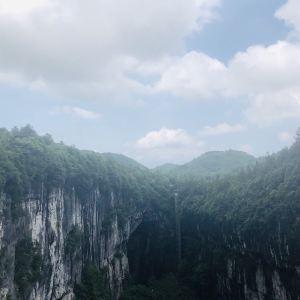 天生三桥玻璃眺望台旅游景点攻略图