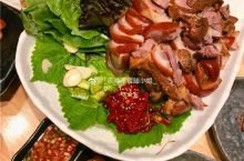 吃在大连-重点韩式酱猪肘,好大一份,满满的胶原蛋白~