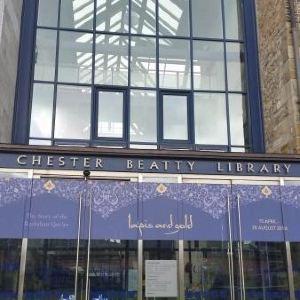 切斯特比替图书馆旅游景点攻略图