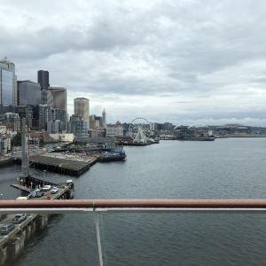 西雅图摩天轮旅游景点攻略图