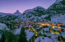 冬季度假胜地瑞士,乘登山火车,与瑞士山王马特洪峰来次亲密接触